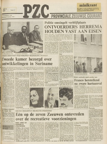 Provinciale Zeeuwse Courant 1975-10-22