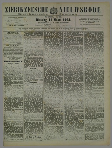 Zierikzeesche Nieuwsbode 1905-03-14