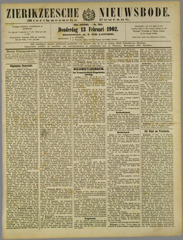 Zierikzeesche Nieuwsbode 1902-02-13