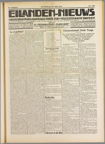 Eilanden-nieuws. Christelijk streekblad op gereformeerde grondslag 1939-05-24