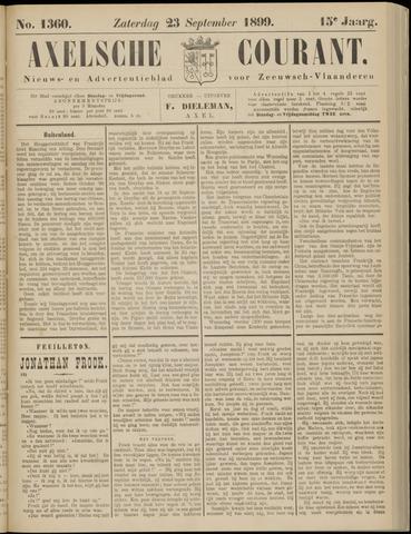 Axelsche Courant 1899-09-23