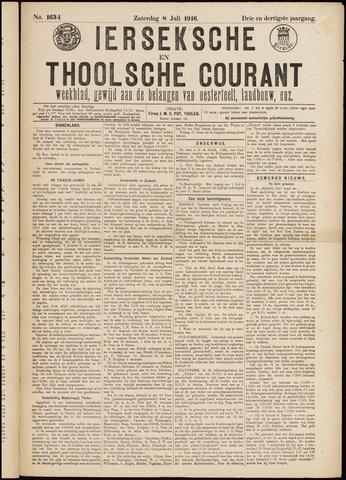 Ierseksche en Thoolsche Courant 1916-07-08