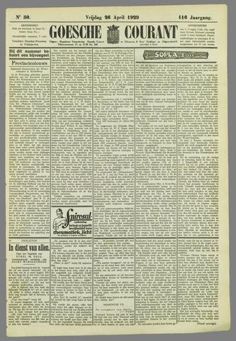 Goessche Courant 1929-04-26