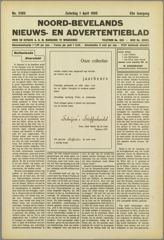 Noord-Bevelands Nieuws- en advertentieblad 1950-04-01