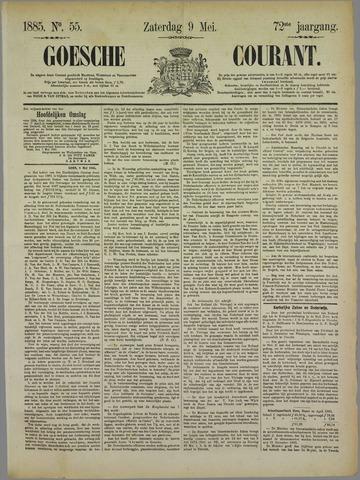 Goessche Courant 1885-05-09