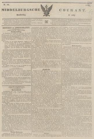 Middelburgsche Courant 1844-07-11