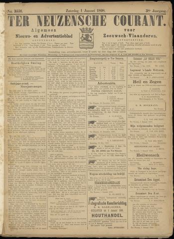 Ter Neuzensche Courant. Algemeen Nieuws- en Advertentieblad voor Zeeuwsch-Vlaanderen / Neuzensche Courant ... (idem) / (Algemeen) nieuws en advertentieblad voor Zeeuwsch-Vlaanderen 1898