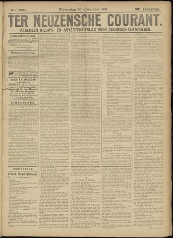 Ter Neuzensche Courant. Algemeen Nieuws- en Advertentieblad voor Zeeuwsch-Vlaanderen / Neuzensche Courant ... (idem) / (Algemeen) nieuws en advertentieblad voor Zeeuwsch-Vlaanderen 1921-11-30