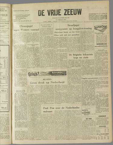 de Vrije Zeeuw 1959-02-25