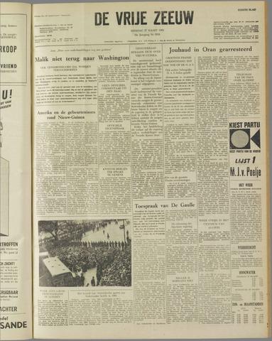 de Vrije Zeeuw 1962-03-27