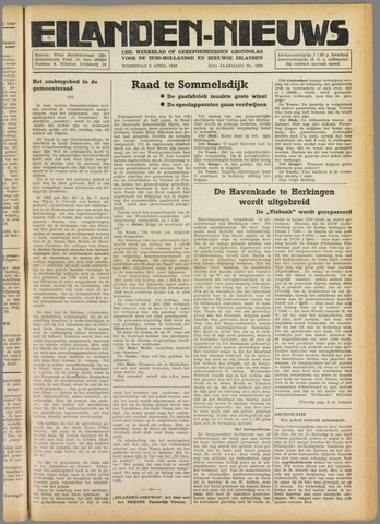 Eilanden-nieuws. Christelijk streekblad op gereformeerde grondslag 1949-04-06