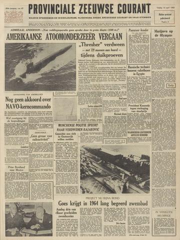 Provinciale Zeeuwse Courant 1963-04-12