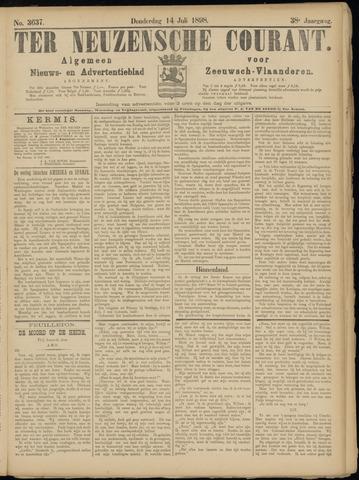 Ter Neuzensche Courant. Algemeen Nieuws- en Advertentieblad voor Zeeuwsch-Vlaanderen / Neuzensche Courant ... (idem) / (Algemeen) nieuws en advertentieblad voor Zeeuwsch-Vlaanderen 1898-07-14