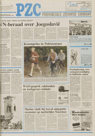 Provinciale Zeeuwse Courant 1991-09-21