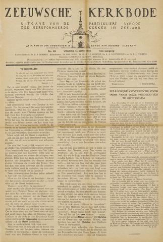 Zeeuwsche kerkbode, weekblad gewijd aan de belangen der gereformeerde kerken/ Zeeuwsch kerkblad 1946-06-14