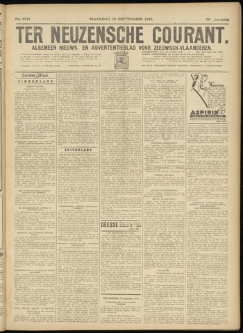 Ter Neuzensche Courant. Algemeen Nieuws- en Advertentieblad voor Zeeuwsch-Vlaanderen / Neuzensche Courant ... (idem) / (Algemeen) nieuws en advertentieblad voor Zeeuwsch-Vlaanderen 1933-09-18