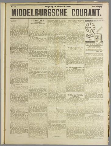 Middelburgsche Courant 1927-01-14