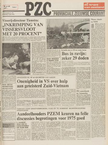 Provinciale Zeeuwse Courant 1975-04-03
