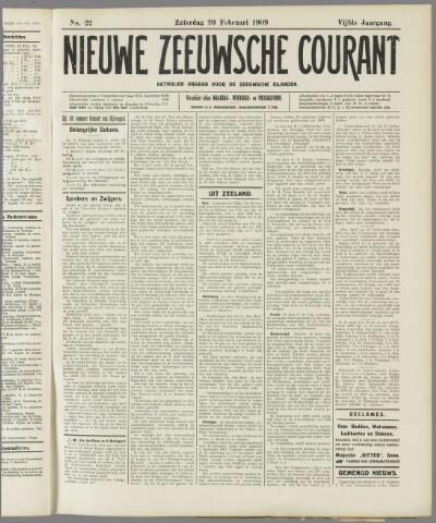 Nieuwe Zeeuwsche Courant 1909-02-20