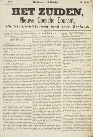 Het Zuiden, Christelijk-historisch blad 1880-10-14
