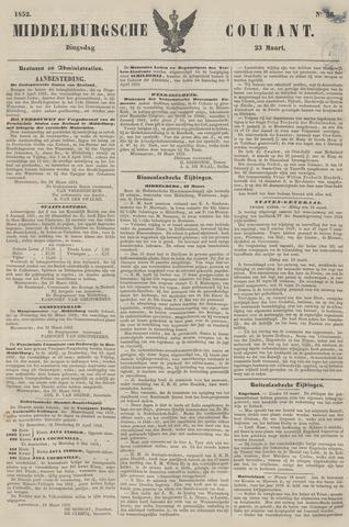 Middelburgsche Courant 1852-03-23