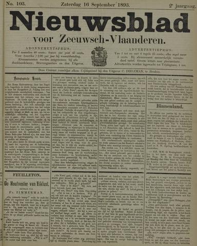 Nieuwsblad voor Zeeuwsch-Vlaanderen 1893-09-16