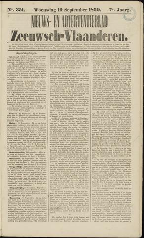 Ter Neuzensche Courant. Algemeen Nieuws- en Advertentieblad voor Zeeuwsch-Vlaanderen / Neuzensche Courant ... (idem) / (Algemeen) nieuws en advertentieblad voor Zeeuwsch-Vlaanderen 1860-09-19