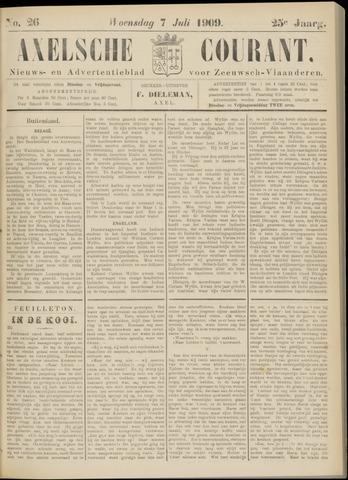 Axelsche Courant 1909-07-07