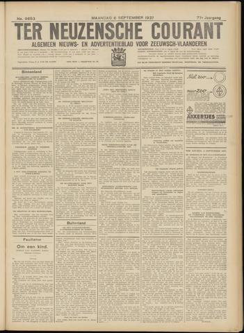 Ter Neuzensche Courant. Algemeen Nieuws- en Advertentieblad voor Zeeuwsch-Vlaanderen / Neuzensche Courant ... (idem) / (Algemeen) nieuws en advertentieblad voor Zeeuwsch-Vlaanderen 1937-09-06