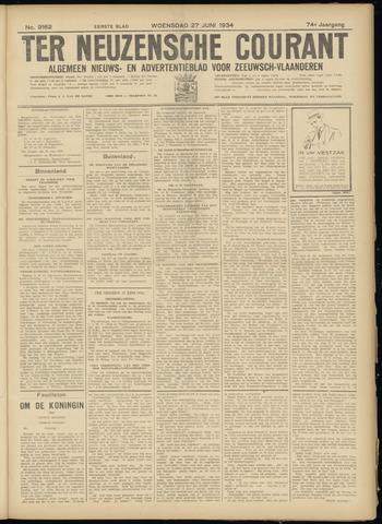 Ter Neuzensche Courant. Algemeen Nieuws- en Advertentieblad voor Zeeuwsch-Vlaanderen / Neuzensche Courant ... (idem) / (Algemeen) nieuws en advertentieblad voor Zeeuwsch-Vlaanderen 1934-06-27