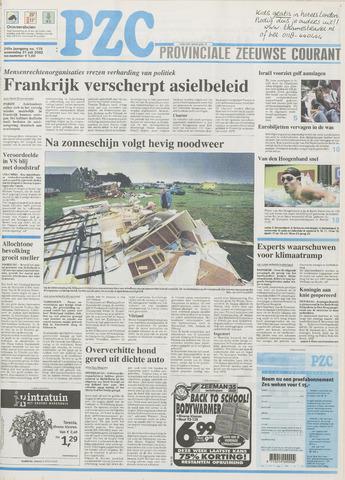 Provinciale Zeeuwse Courant 2002-07-31