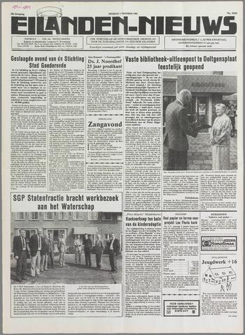Eilanden-nieuws. Christelijk streekblad op gereformeerde grondslag 1985-10-01