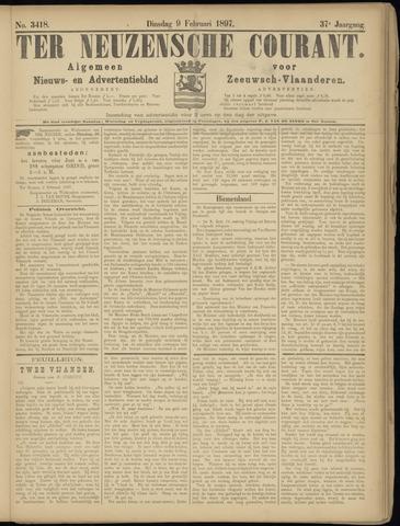 Ter Neuzensche Courant. Algemeen Nieuws- en Advertentieblad voor Zeeuwsch-Vlaanderen / Neuzensche Courant ... (idem) / (Algemeen) nieuws en advertentieblad voor Zeeuwsch-Vlaanderen 1897-02-09