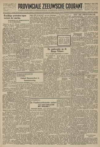 Provinciale Zeeuwse Courant 1946-04-08