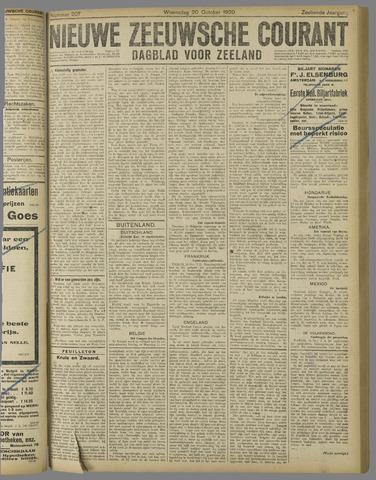 Nieuwe Zeeuwsche Courant 1920-10-20