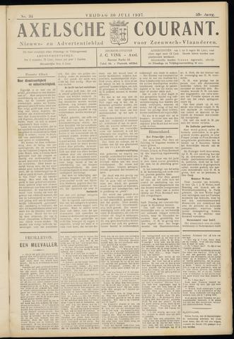 Axelsche Courant 1937-07-30