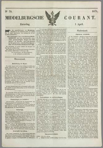 Middelburgsche Courant 1871-04-01
