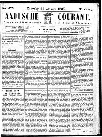 Axelsche Courant 1893-01-14