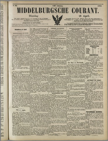 Middelburgsche Courant 1903-04-21