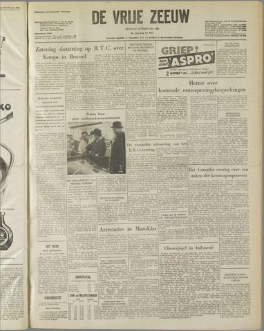 de Vrije Zeeuw 1960-02-19