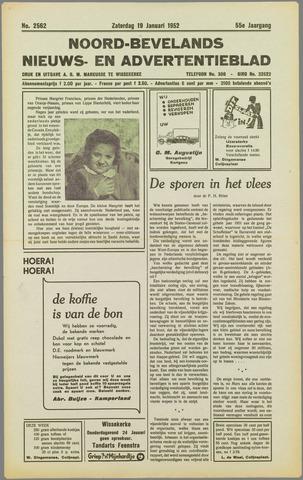 Noord-Bevelands Nieuws- en advertentieblad 1952-01-19