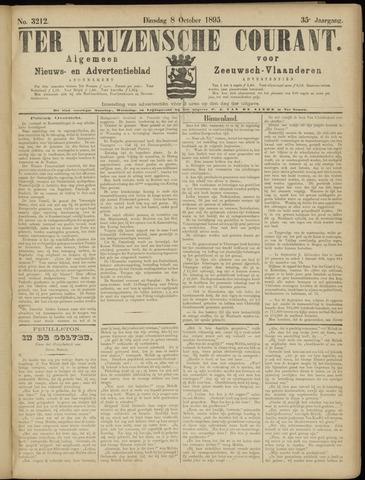 Ter Neuzensche Courant. Algemeen Nieuws- en Advertentieblad voor Zeeuwsch-Vlaanderen / Neuzensche Courant ... (idem) / (Algemeen) nieuws en advertentieblad voor Zeeuwsch-Vlaanderen 1895-10-08