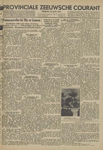 Provinciale Zeeuwse Courant 1944-06-16