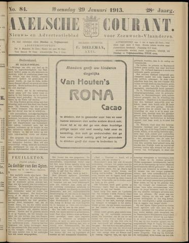 Axelsche Courant 1913-01-29