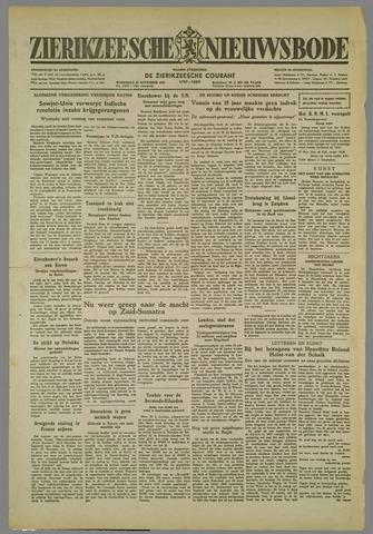 Zierikzeesche Nieuwsbode 1952-11-26