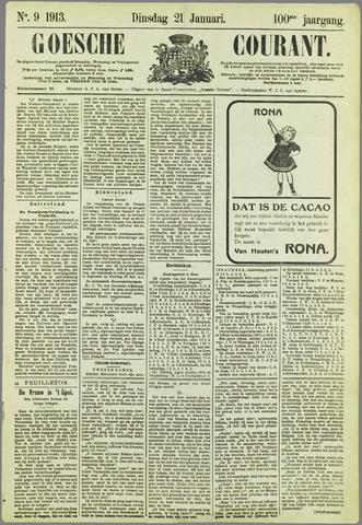 Goessche Courant 1913-01-21