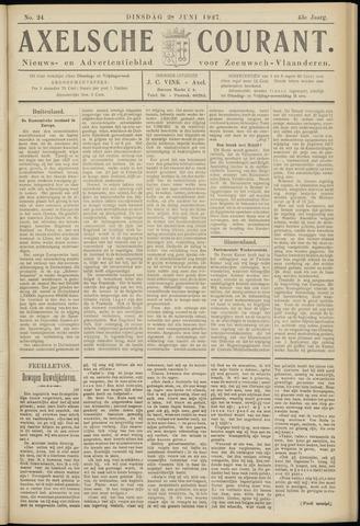Axelsche Courant 1927-06-28