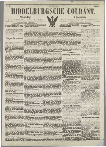 Middelburgsche Courant 1900