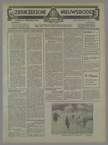 Zierikzeesche Nieuwsbode 1941-08-06