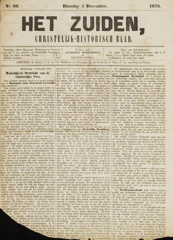 Het Zuiden, Christelijk-historisch blad 1876-12-05